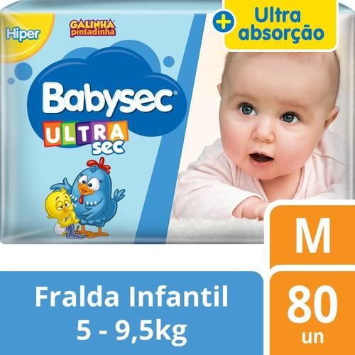 Fralda Infantil Babysec Ultrasec