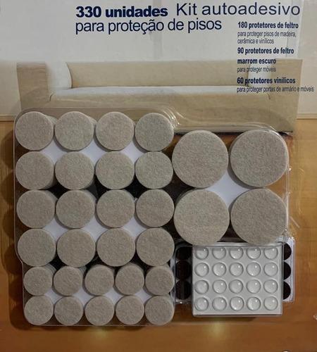 330 Feltro Adesivo Proteção Barulho Piso Cadeira Parede Mesa