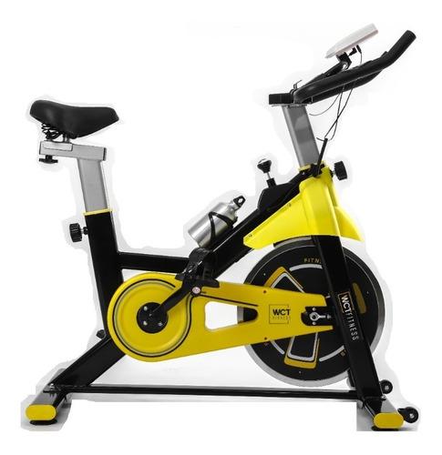 Bicicleta Spinning Com Roda De Inércia De 8kg Wct Fitness