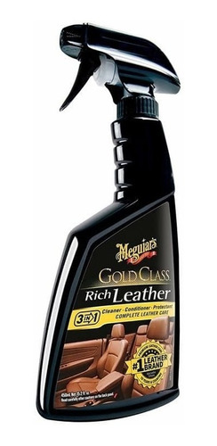 Meguiars Gold Class Rich Leather Spray,limpia Cuero,nutre