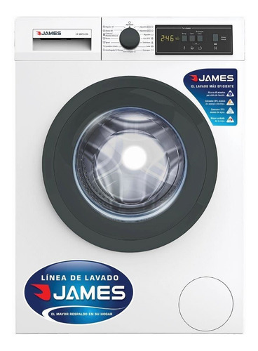 Lavarropas James 6 Kg Lr1007 G2 1000 Rpm Blanco Pcm