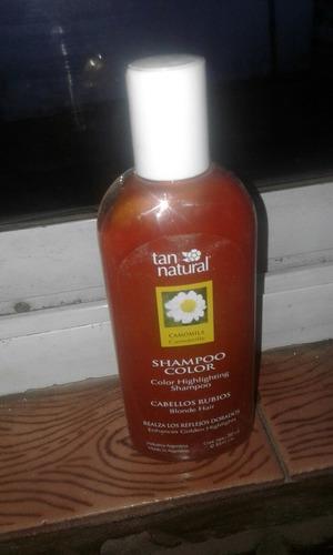 Shampoo Tan Natural 260 Cm Cabellos Rubios