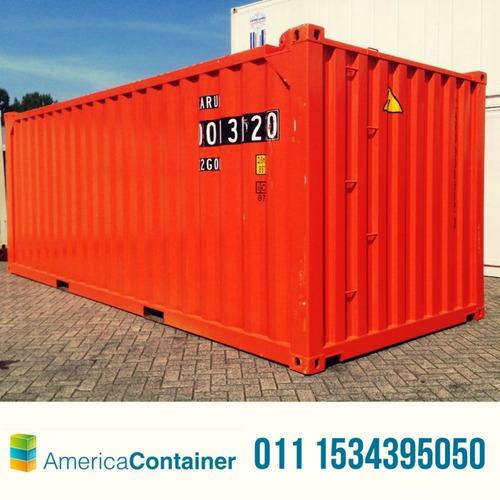 Contenedores Marítimos Containers  20' Usados Bsas O