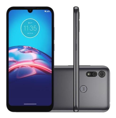 Smartphone Motorola Moto E6i Tela 6.1 32 Gb Cinza Titanium