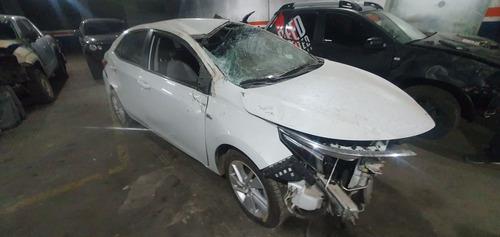 Toyota Corolla Xei Pack Cuero Chocado
