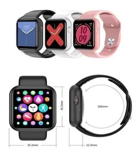 Relógio Smartwatch Y68plus Faz E Recebe Ligações Coloca Foto