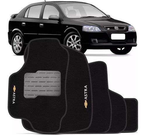 Jogo Tapete Carpete Logo Bordado Astra 1999 2000 01 02 2003 2004 2005 2006 2007 2008 2009 2010 2011 2012 Padrão Original