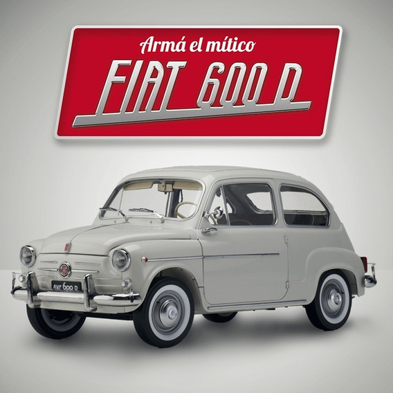 Fiat 600 Para Armar Tenemos Atrasadas Muchas Entregas!!