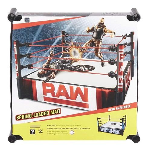 Ring Raw  Wwe + Bonus (mini Silla Plegable Negra)
