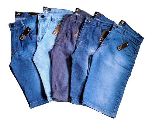 Bermudas Masculinas Jeans - Direto Da Fábrica!!!
