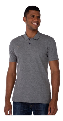 Camiseta Umbro Masculina Polo Fs Clássics  687621