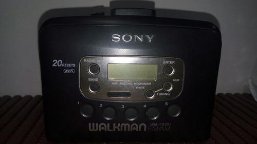 Walkman Sony Wm-fx221