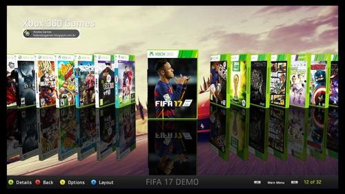 Xbox 360 Slim Rgh Com 80 Jogos No Hd