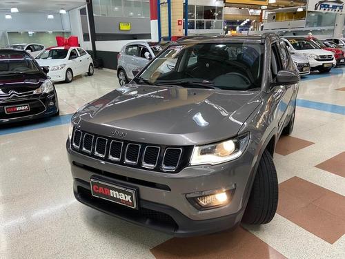 Jeep Compass Longitude 2.0 2017 Cinza 5p