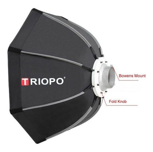 Softbox Triopo 90cm - Bowens Speedbox Armado Rápido Con Grid