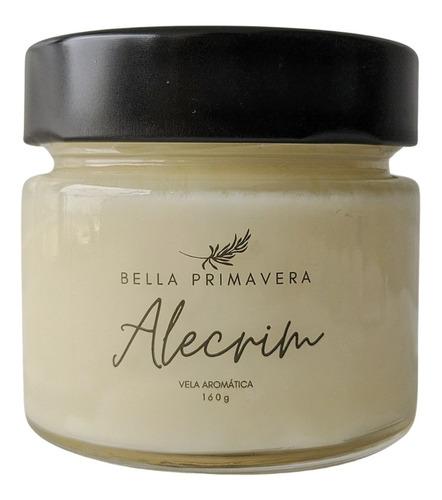 Vela Aromática Aromatizada Alecrim - Classic 160g