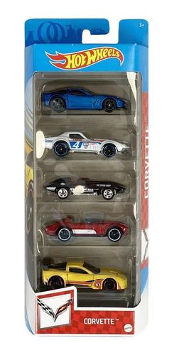 Hot Wheels Pacote Com 5 Carrinhos  - Mattel