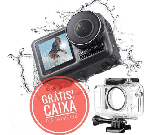 Promoção Câmera Dji Osmo Action 4k + Caixa Estanque Brinde