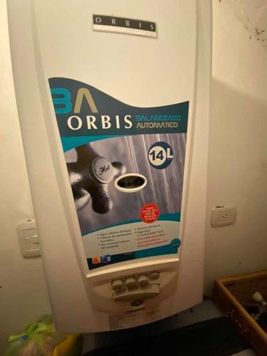 Calefon Orbis 315 Pdo 14 Litros /hora Impecable!!!