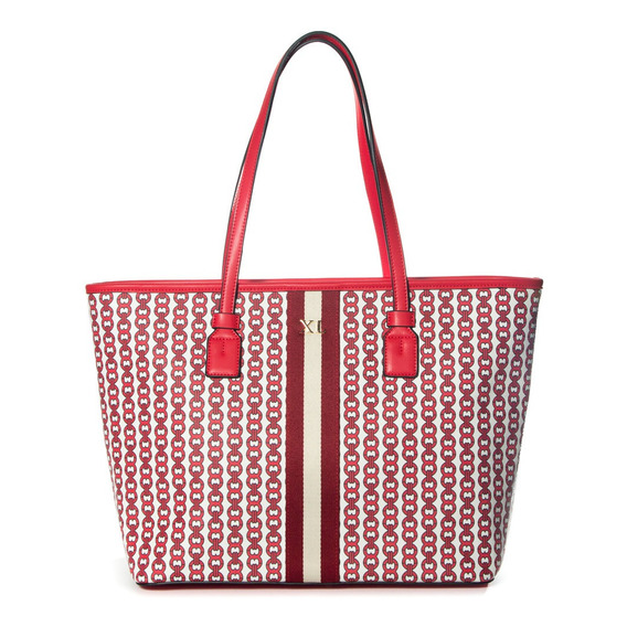 Tote Mujer Xl Extra Large Dixie Rojo