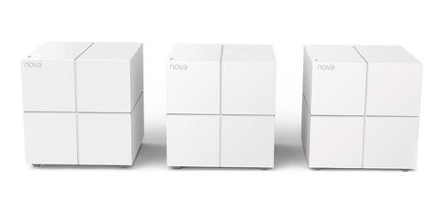 Sistema Wi-fi Mesh Tenda Nova Mw6 Branco 110v/240v 3 Unidades