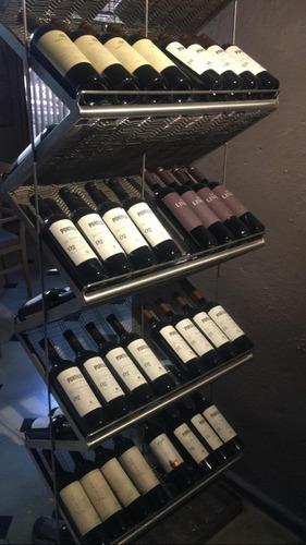 Bodega De Acero Inoxidable 72 Botellas