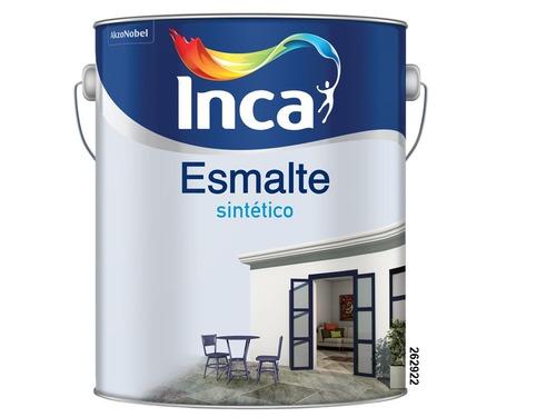 Esmalte Sintético Inca Satinado 4 Litros.