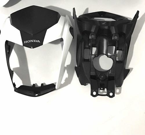 Frente Frontal Titan160 Aranha Branco