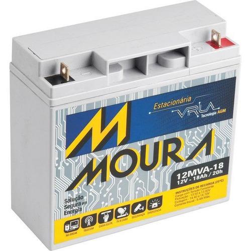 Bateria  Selada 12v 18ah  Rbc7, Rbc11 E Rbc55 No-break Moura