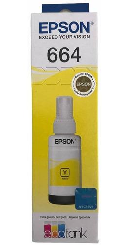 Refil De Tinta Original Epson T664 L120 L365 L375 L395 L396