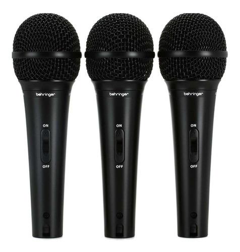 Microfones Behringer Ultravoice Xm1800s Dinâmico  Supercardióide Preto