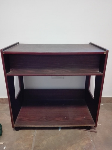Mesa Con Ruedas , Para Impresora O  Tv.