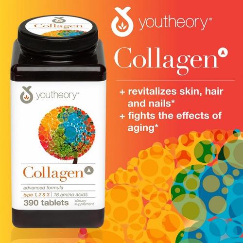 Colageno Youtheory 390 Capsulas