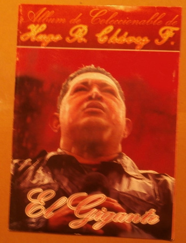 Album Coleccionable Hugo Chavez Frias Esta Vacio.