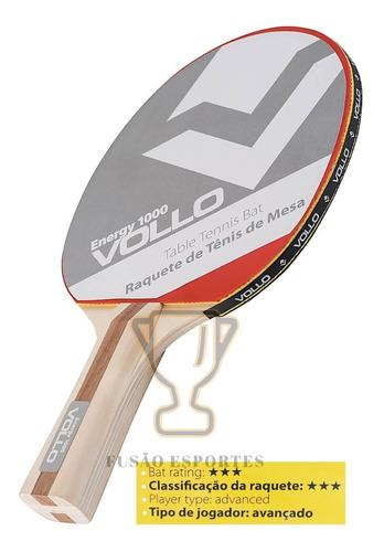 Raquete Tenis De Mesa Ping Pong Table Tennis Profissional 3*