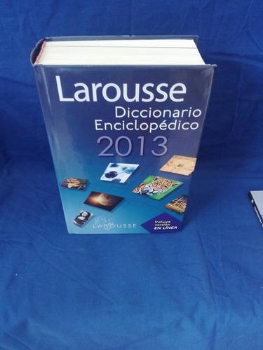 Larousse, Diccionario Enciclopédico 2013