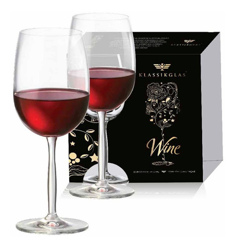 Kit Taças Vinho Tinto Passion Cristal Ritzenhoff 540ml 2 Pcs