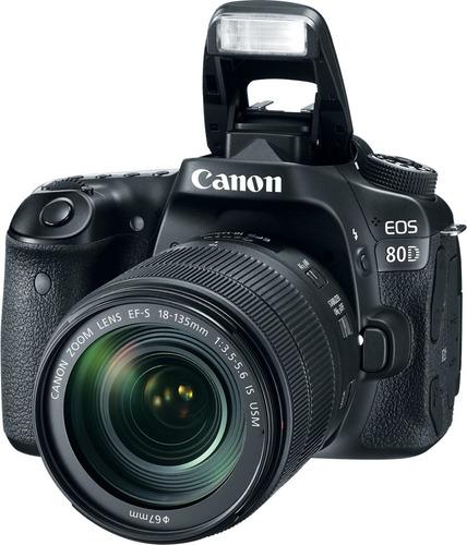 Canon Eos 80d Lente 2x Baterias Menos De 100 Cliques