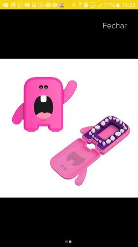 Porta Dentinho Cor Rosa