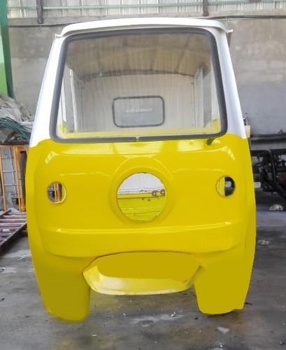Mototaxi Cabina Conductor Y Pasajeros