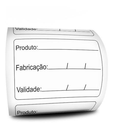 Etiqueta De Alimento Prazo Validade Anvisa 60x40 - Milheiro