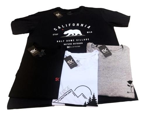 Kit 10 Camisas Camisetas Masculinas Atacado Envio Imediato