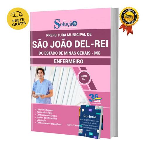 Apostila Prefeitura São João Del rei Mg Enfermeiro