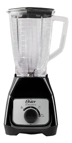 Licuadora Oster Blstkap 1.5 L Negra Con Vaso De Plástico 127v