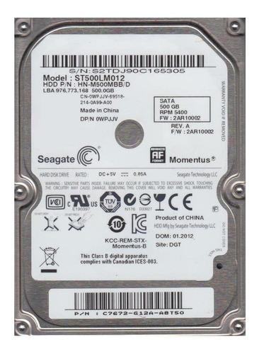Disco Rígido Interno Samsung Momentus St500lm012 500gb