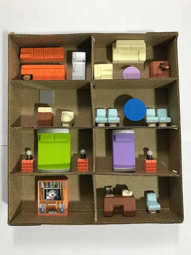 Maquetas Mobiliario Set X 25 Piezas