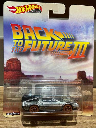 Hot Wheels Delorean De Volta Para O Futuro 3