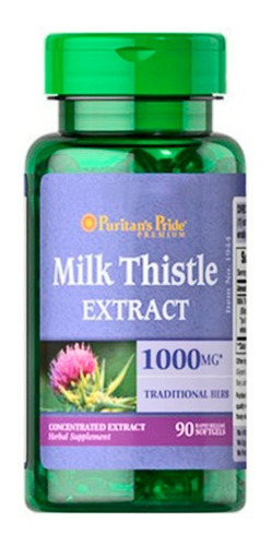 Milk Thistle Extract 1.000mg X 90 Softgels