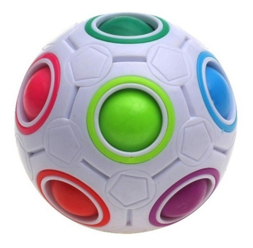 Cubo Mágico Bola Puzzle Raibow Ball