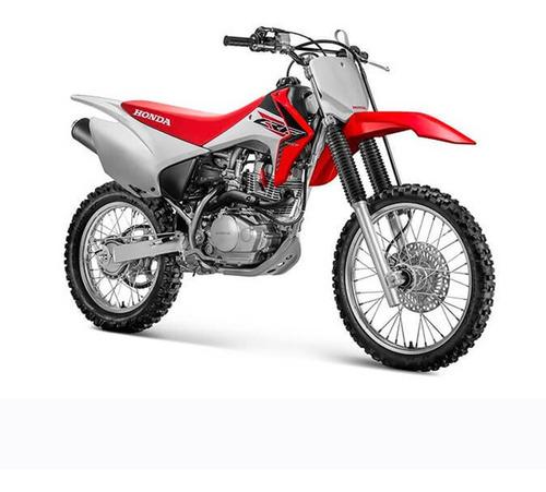 Moto Honda Crf 150 2018 Roja
